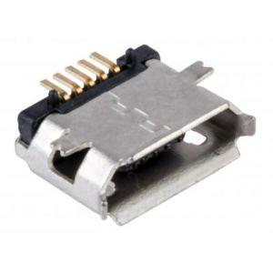 Jack micro USB para soldar, sin cubierta