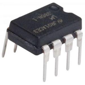 Amplificador de audio, de 1 Watt, 15 Volts, 8 pines