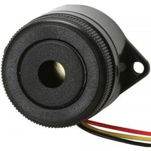 Buzzer de 3,5 kHz, de 3 a 24 Vcc, con tono de pulso rápido de 90 dB