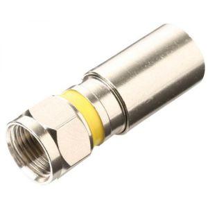 Conector macho tipo F PermaSeal-II para cable RG6