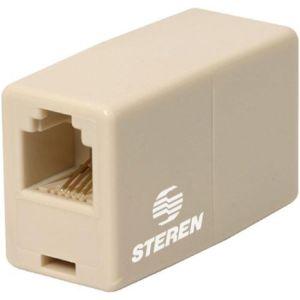 Conector telefónico para extensión, de 4 toma corrientes