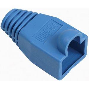Cubierta protectora para conector RJ45, azul