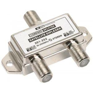 Diplexor-mezclador para satélite, de 40 a 2050 MHz