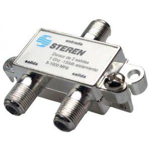 Splitter de 2 salidas a 75 Ohms, 1 GHz