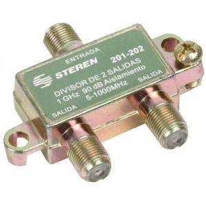 Splitter de 2 salidas, de 75 Ohms, 1 GHz, 90 dB