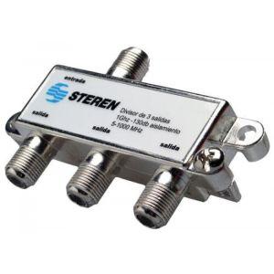 Splitter de 3 salidas a 75 Ohms, 1 GHz