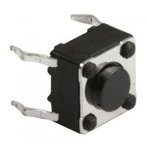 Micro switch, de push, con 4 terminales