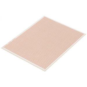 Placa fenólica perforada de 10,7 cm x 14 cm