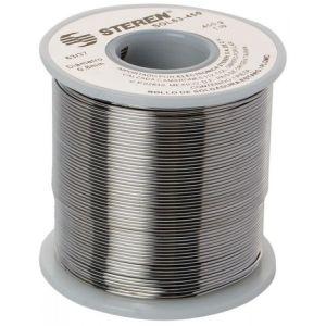 Rollo de 450 gramos de soldadura con aleación estaño/plomo (63/37)