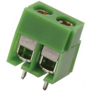 Terminal chica con 2 tornillos, para circuito impreso