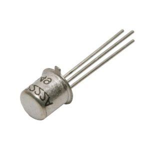 Transistor de pequeña señal NPN, TO-206AA