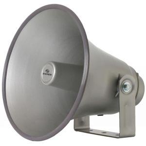 """Trompeta redonda de 12"""" con unidad de 40 W, de aluminio"""