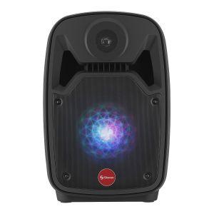 "Parlante Amplificado de 8"" 550 WPMPO Bluetooth con batería recargable"