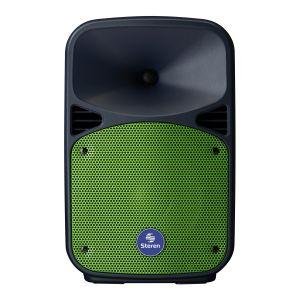 """Parlante Amplificado de 8"""" 1,100 W PMPO Bluetooth con batería recargable"""