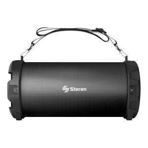 Bocina Bluetooth mini Bazooka con reproductor USB/SD