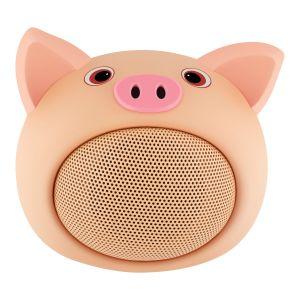 Mini bocina Bluetooth con forma de puerco