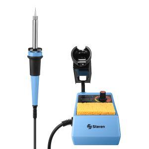 Cautín de lápiz tipo estación, con control de temperatura, de 45 Watts