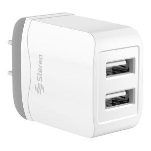 Cargador USB express doble