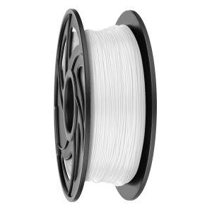 Filamento PLA para impresora 3D, blanco