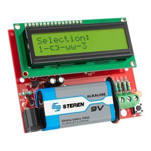 Probador/identificador de componentes electrónicos