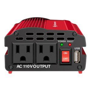 Inversor de corriente automotriz de 400 W (12 Vcc a 110 Vca)