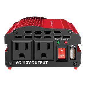 Inversor de corriente automotriz de 600 W (12 Vcc a 110 Vca)