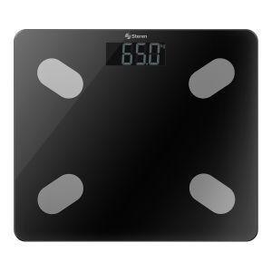 Báscula digital Bluetooth* con análisis corporal, hasta 180 kg