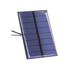 Panel solar de 6 Vcc y 100 mA
