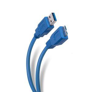 Cable USB 3.0 a micro USB tipo B 3.0 de 1,8 m, reforzado